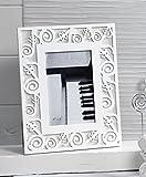 Mandorle by Paben Cornice portafoto in Legno Note Musicali cm. 24 x 19 Anche bomboniera Matrimonio