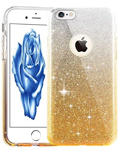 iPhone 7 Hülle Transparent,iPhone 7 Hülle Silikon,iPhone 7 Hülle Clear,iPhone 7 Hülle Glitzer,iPhone 7 Crystal Clear TPU Case Hülle Klare Ultradünne Silikon Gel Schutzhülle Durchsichtig Rückschale Etu TPU 129