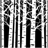 Crafters Workshop Plastic Template 12-inch x 12-inch Aspen Trees