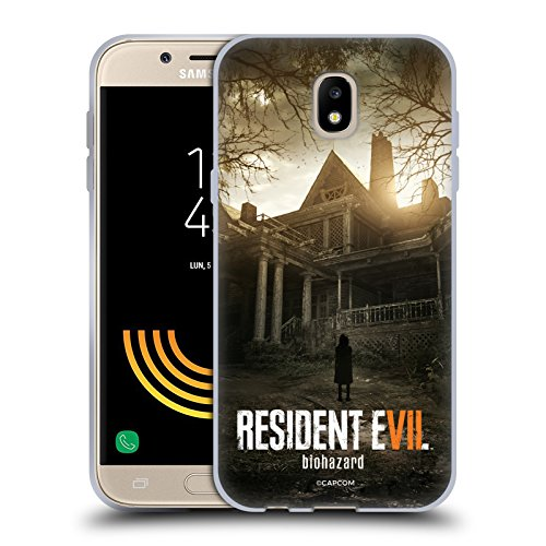 Head Case Designs Offizielle Resident Evil Bürgerhaus Spiel 7 Schlüssel Kunst Soft Gel Hülle für Samsung Galaxy J5 (2017)