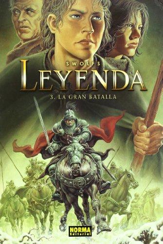 Leyenda 3, La gran batalla Cover Image