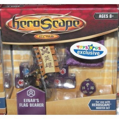 Heroscape: Einar's Flag Bearer by Hasbro (English Manual)