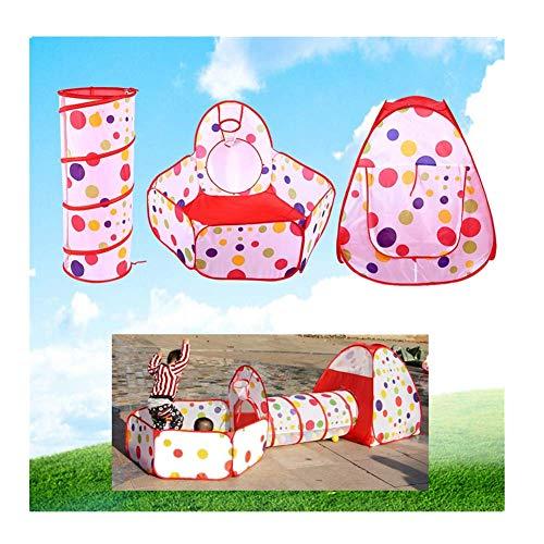 spielzelt Spielzelt Indoor Outdoor Babyzelt Spiel mit Tunnel und Spiel Zelt Ideal für Zuhause und Garten ()