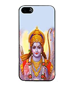 PrintVisa Designer Back Case Cover for Apple iPhone 5 (Ram With His Bow And Arrow)