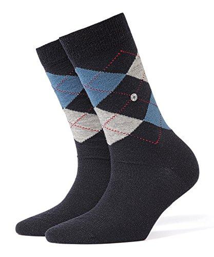 Burlington Damen Socken Marylebone, Gr. 36/41, blau (navy 6375) -