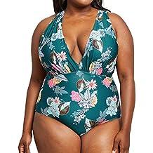 39726b4d2 Vectry Bikinis para Mujer Tankinis Mujer Bañador Premama Bañadores de Mujer  Dos Piezas Top Y Falda