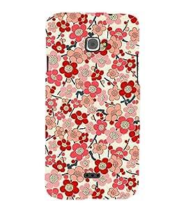 Fuson Designer Back Case Cover for InFocus Bingo 50 ( Colorful Floral Wallpaper )