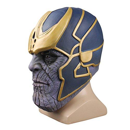 Infinity Krieg Cosplay Latex Party Maske, Flexible Helm Kostüm Zubehör Freie Größe Halloween Requisiten (Halloween Zwei Menschen Kostüme)