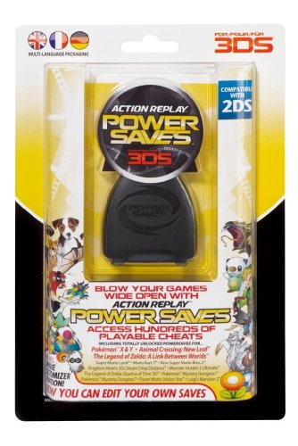 Action Replay 3DS Power Saves (Nintendo 3DS XL/3DS & 2DS) (3ds Fire Xl Nintendo)