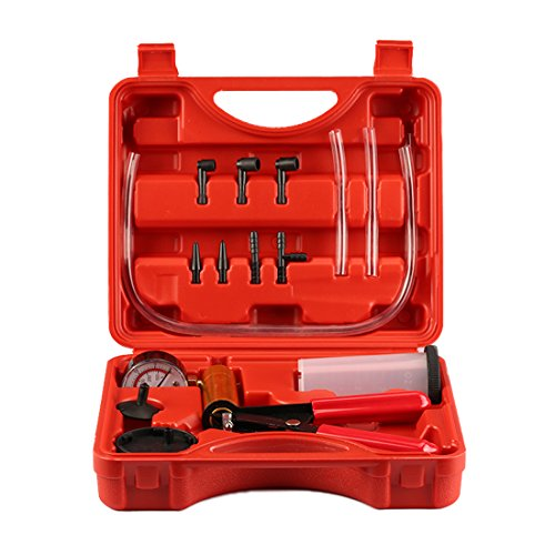 LIUXIANSHNEG Hand Tool Kit 2 in 1 Auto Teile Auto manuelle Vakuum Gun Bremspumpe Test Kit