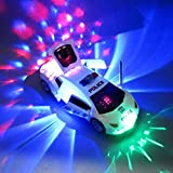 Einsgut Trasformatore Robot Modello di Auto Giocattolo a velocità di Rotazione di 360 Gradi con Musica e Regali di Compleanno per Bambini Leggeri
