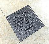 Edelstahl-Duschbodenablauf Geruch Balkon Badezimmer Badezimmer-Platz