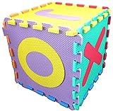 Unbekannt Set ABC Puzzle Matten 26-teilig 32x32x1 cm (4500020)