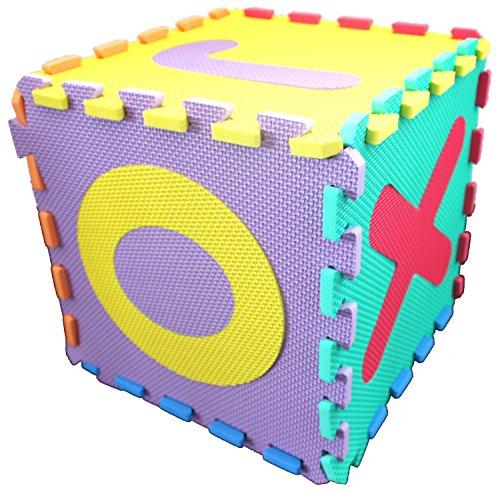 Preisvergleich Produktbild ABC Puzzle Matten 26teilig (A-Z) 32cm x 32cm x 10mm