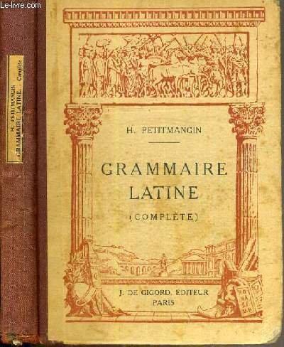 Grammaire Latine (complte)