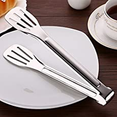 Pigeon Stainless Steel Pastry Tong - Small (9 Inch)