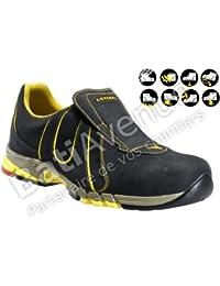 Diadora zapatos de seguridad con fuego al Nomex tussuturas, color gris, talla 39 UE / 5,5 UK