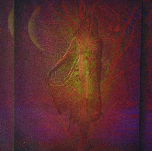 3dRose LLC Mauspad mit Baum Göttin Wicca Pagan Gaia Baum Natur Spirituelle Geist Mythologie Muster (mp_22329_1)