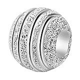 CHANGEABLE Charms et perles femme argent 925 (balling pur) SGS Certifié