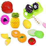 Best Toys 4 Year Old Girl - Vivir Boy's and Girl's Sliceable Fruits Set Toys Review