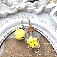 Sailor Moon Serenity Orecchini Kawaii Chibi Cute Earrings Tiny Fimo
