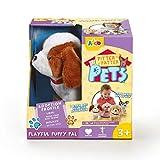 Pitter Patter Pets – Playful Puppy Pal – Interaktives Hündchen, braund und Weiss