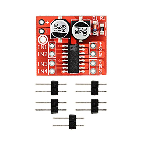 Dual Grafikkarte Mainboard (RongDuosi 2~10V Dual-H-Brücke Motortreibermodul Überhitzungsschutz PWM-Geschwindigkeits-Adjus PCB-Entwicklungsplatine Computerzubehör)