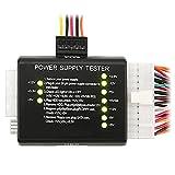 SODIAL(WZ.) 20/24-pin Netzteil Tester Netzteiltester fuer ATX / SATA / HDD in Schwarz
