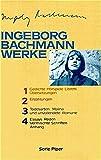 Ingeborg Bachmann Werke in 4 Bänden