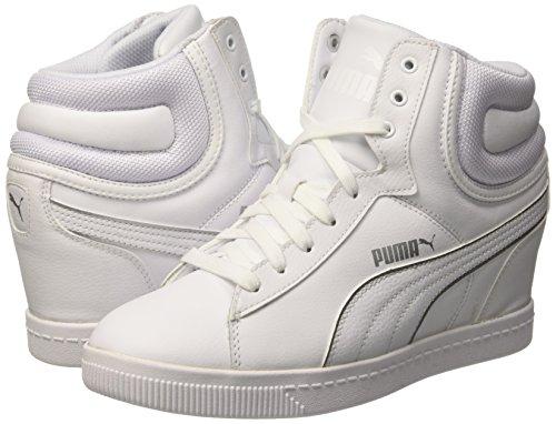 Puma , Damen Sneaker Weiß / Silber