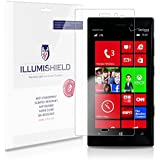 iLLumiShield - Nokia Lumia 928 Screen Protector Japanese Ultra Clear HD Film with Anti-Bubble and Anti-Fingerprint - High Quality (Invisible) LCD Shield - Lifetime Replacement Warranty - [3-Pack] OEM / Retail Packaging