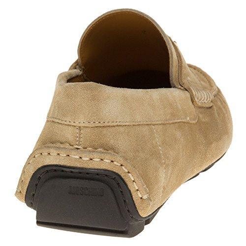 Moschino Logo Driving Herren Schuhe Neutral Neutral