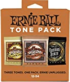 Ernie Ball p03313 Guitare acoustique Taille moyenne tons Lot