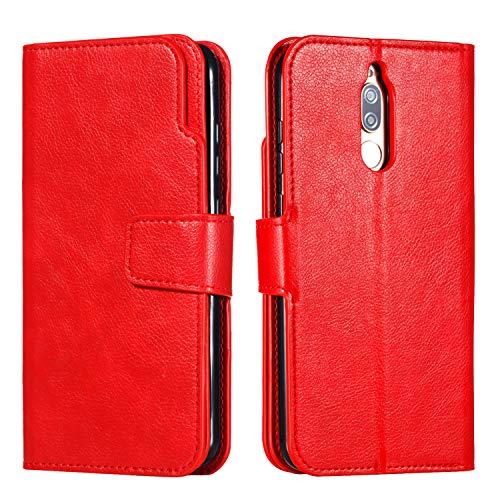 Handy hülle Tasche Leder Flip Case Brieftasche Etui Schutzhülle für Huawei Mate 20 20 Lite 20 Pro/Mate 10 Lite 10 Pro/P20 20 Lite 20 Pro/P8 Lite 2017/P9 P9 Lite/P10/ P smart hülle,5 Farben