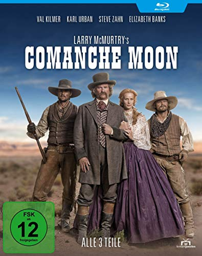 Larry McMurtry's Comanche Moon - Alle 3 Teile [Blu-ray]