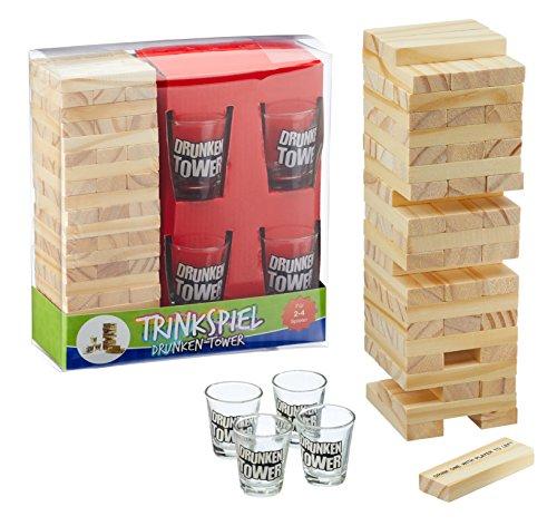 Trinkspiel-Partyspiel-Drunking-Tower-drunken-f-Party-Feier Trinkspiel Partyspiel Drunking Tower drunken f. Party Feier -