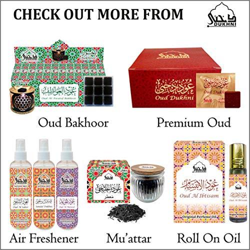 Oudh Bakhoor Qamar, Mukhtar and Habayeb - Set of 3 fragrances (9 pcs Each), by Dukhni
