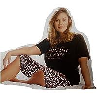 0e85820ef05187 Damen Schlafanzug Pyjama Set 2-teilig Pyjama Schlaf L-XXL Anzug*283190 (