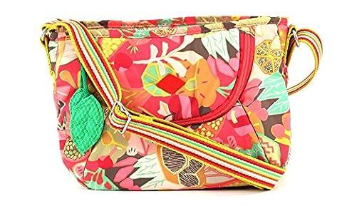 Oilily Fruity M Shoulder Bag Candy Pink (Oilily Kindertasche)
