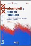 Elementi di diritto pubblico. Complemento didattico per agevolare lo studio e il ripasso