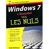 L'Essentiel Windows 7 pour les nuls