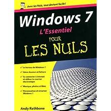 WINDOWS 7 L'ESSENTIEL PR NULS