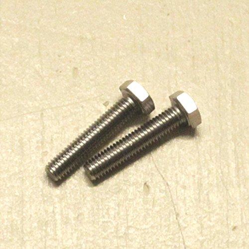 Dresselhaus Sechskantschrauben A2 mit Gewinde bis Kopf, M 10 x 100 mm, 50 Stück