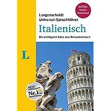 """Langenscheidt Universal-Sprachführer Italienisch - Buch inklusive E-Book zum Thema """"Essen & Trinken"""": Die wichtigsten Sätze plus Reisewörterbuch"""
