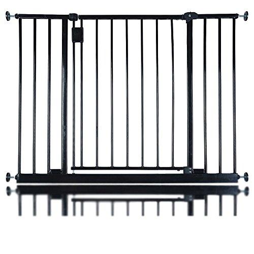 Safetots Extra Wide Hallway Gate, 97 to 103 cm, Black  Safetots Limited