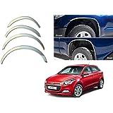 Autopearl Chrome Wheel Arches Fender Trim for Hyundai Elite i20 (Set of 4)