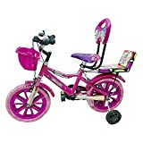 Global Bikes Barbie 14T (Pink) Kids Bicycle for 2 to 5 Years Fully