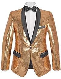 Amazon.it  SMOKING - Oro   Abiti e giacche   Uomo  Abbigliamento 271cfd68217