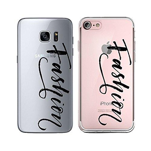 Blitz® TAKE IT EASY motifs housse de protection transparent TPE caricature bande iPhone Girl Power M2 iPhone 6 6s Fashion M1