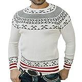 MOIKA Herren Sweatshirt Herren Herbst Winter Solide Hoodie Print Gestrickte Truteneck Pullover Bluse Top